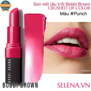 Son môi lâu trôi Bobbi Brown Crushed Lip Color #Punch