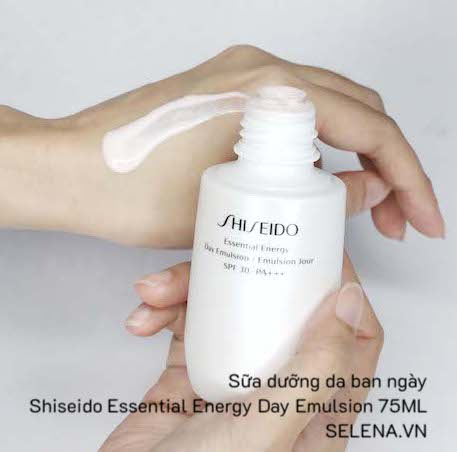 Sữa dưỡng da ban ngày Shiseido Essential Energy Day Emulsion 75ML