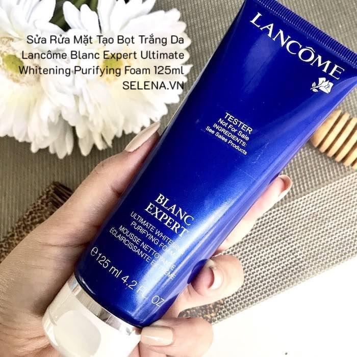 Blanc Expert Ultimate Whitening Purifying Foam , Sửa Rửa Mặt Tạo Bọt Trắng Da Lancôme , Sửa Rửa Mặt Lancôme , Sửa Rửa Mặt Lancôme Trắng Da , Dung Dịch Sửa Rửa Mặt Lancôme Tạo Bọt , Sữa Rửa Mặt Trắng Da Lancôme Blanc Expert , Mousse Rửa Mặt Tạo Bọt Lancome , Sữa Rửa Mặt Trị Mụn , Top Sữa Ra Mặt Tốt Nhất , Sữa Rửa Mặt Nam , Sữa Rửa Mặt Cho Da Khô , Sữa Rửa Mặt Cho Da Dầu , Sữa Rửa Mặt Cho Da Dầu Mụn , Sữa Rửa Mặt Cho Da Nhạy Cảm , Sữa Rửa Mặt Cho Da Tốt , Sữa Rửa Mặt Cho Da Rẻ , Sữa Rửa Mặt Trắng Da