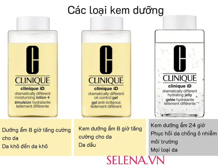 Tinh chất đậm đặc Clinique iD Dramatically Different Hydrating Jelly and Active Cartridge Concentrate 125ml