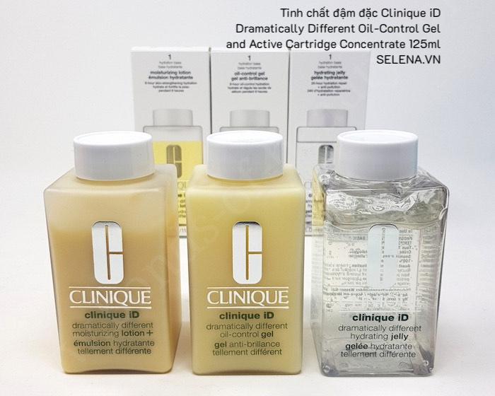 Tinh chất đậm đặc Clinique iD Dramatically Different Oil-Control Gel and Active Cartridge Concentrate 125mlTinh chất đậm đặc Clinique iD Dramatically Different Oil-Control Gel and Active Cartridge Concentrate 125ml