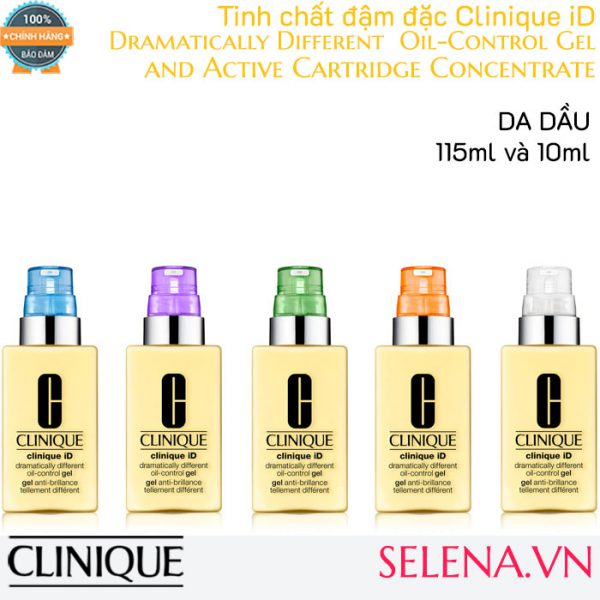 Tinh chất đậm đặc Clinique iD Dramatically Different Oil-Control Gel and Active Cartridge Concentrate 125ml