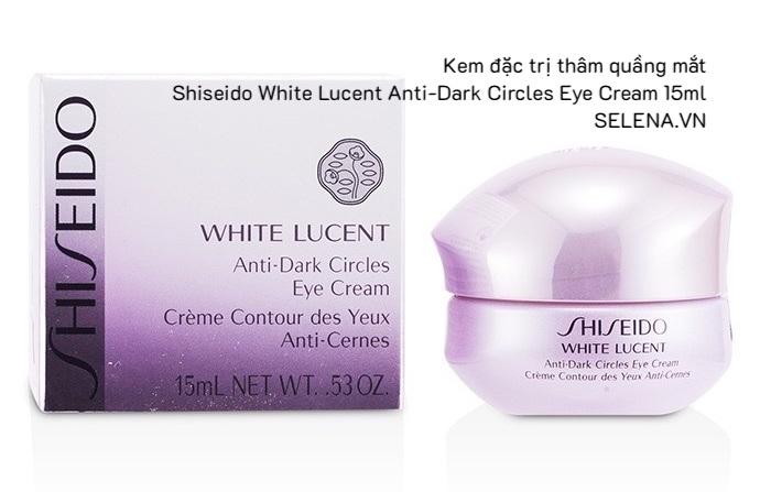 Kem đặc trị thâm quầng mắt Shiseido White Lucent Anti-Dark Circles Eye Kem đặc trị thâm quầng mắt Shiseido White Lucent Anti-Dark Circles Eye Cream 15mlCream 15ml