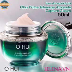 Kem dưỡng sáng da Ohui Prime Advancer Ampoule Capture Cream 50ml