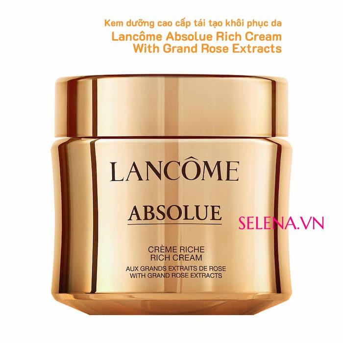 Kem dưỡng tái tạo khôi phục da Lancôme Absolue Rich Cream 60ml