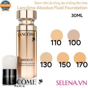 Kem nền dưỡng da chống lão hóa Lancôme Absolue Fluid Foundation 30ml