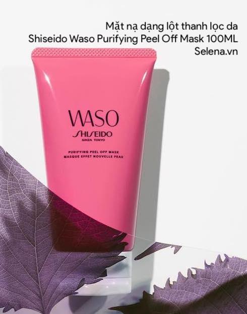Mặt nạ dạng lột thanh lọc da Shiseido Waso Purifying Peel Off Mask 100ML