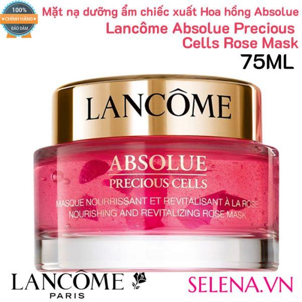 Mặt nạ hoa hồng dưỡng ẩm Lancôme Absolue Precious Cells Rose Mask 75ml
