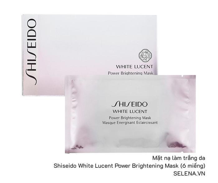 Mặt nạ vải làm trắng da Shiseido White Lucent Power Brightening Mask