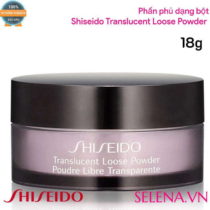 Phấn phủ dạng bột Shiseido Translucent Loose Powder 18g