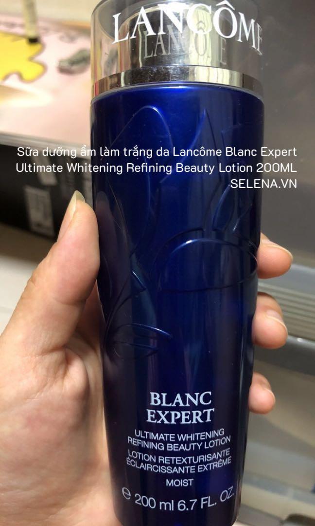 Sữa dưỡng ẩm làm trắng da Lancôme Blanc Expert Ultimate Whitening Refining Beauty Lotion 200ML