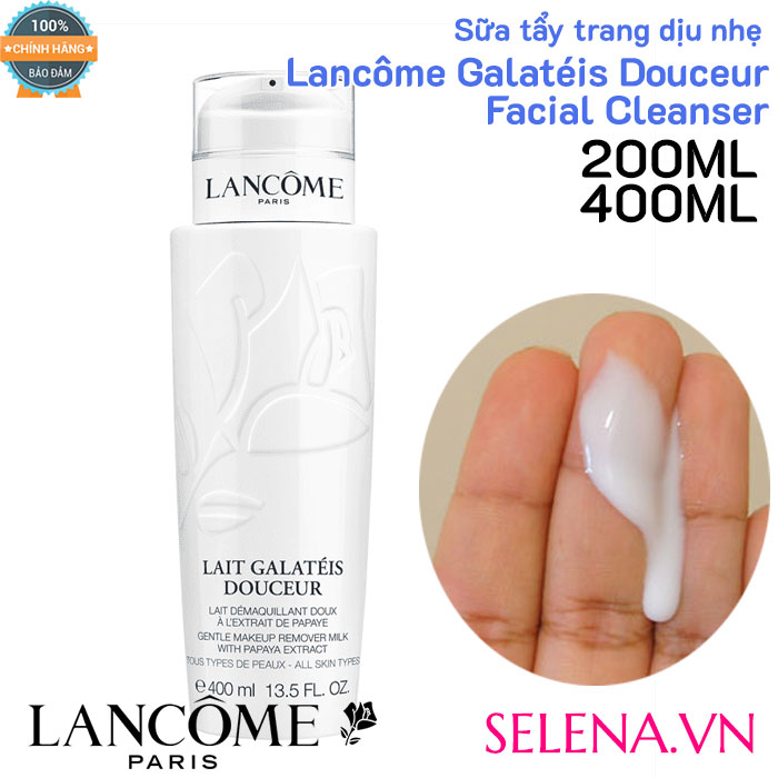Sữa tẩy trang dịu nhẹ Lancôme Galatéis Douceur Facial Cleanser