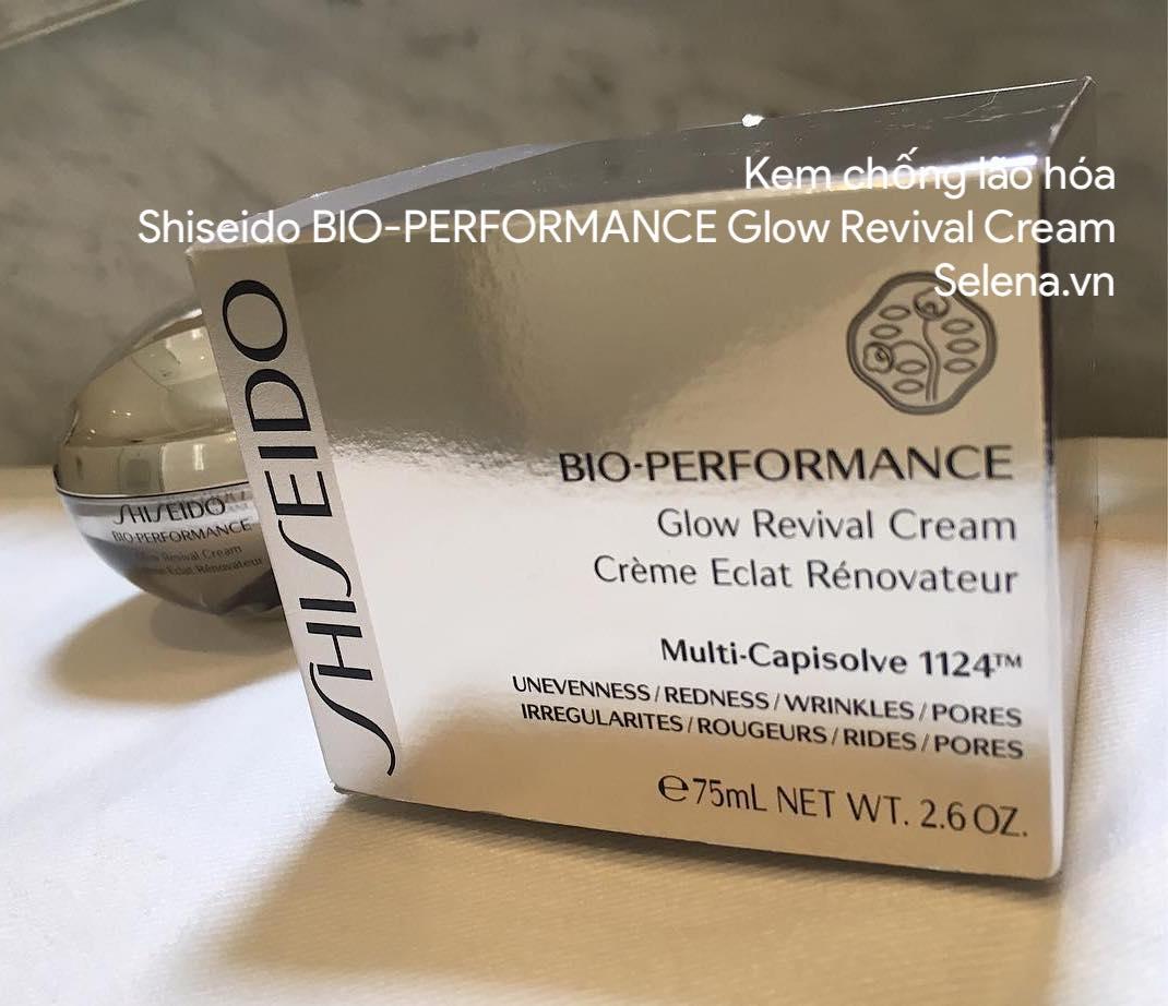 Kem chống lão hóa Shiseido BIO-PERFORMANCE Glow Revival Cream
