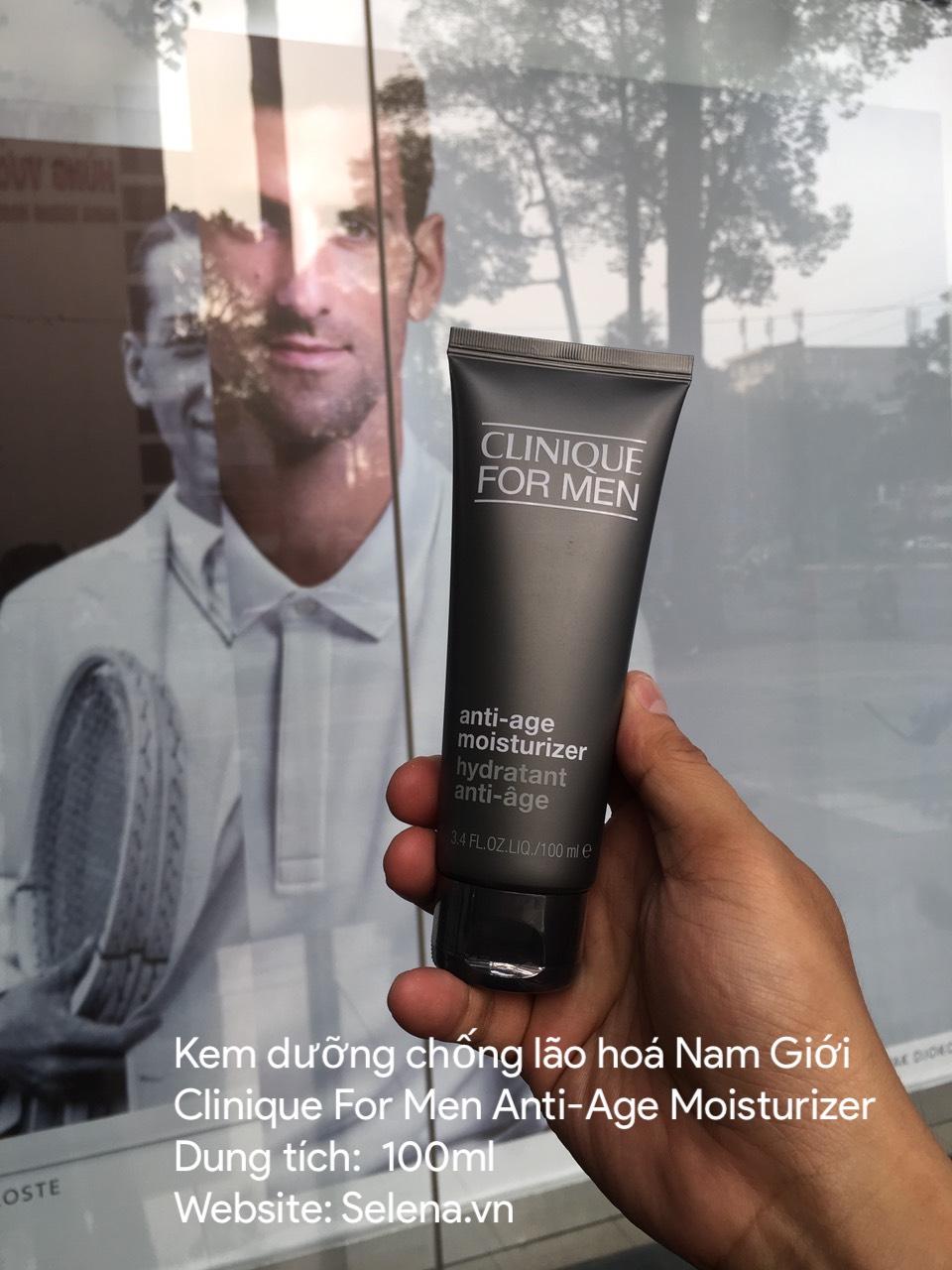 Kem dưỡng ẩm chống lão hoá cho nam giới Clinique For Men