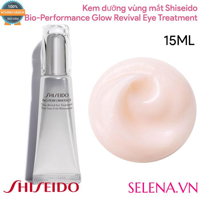Kem Mắt Shiseido , Kem Mắt Shiseido Bio Performance Glow Revival Eye Treatment , Kem Chống Lão Hoá Mắt , Kem Trị Bọng Mắt , Kem Trị Thâm Quầng Mắt , Kem Trị Nhăn Đuôi Mắt
