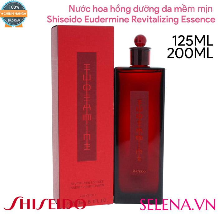 Nước dưỡng da Shiseido Eudermine Revitalizing Essence