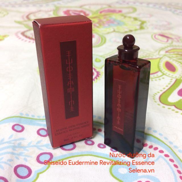 Nước Dưỡng Da Shiseido, Shiseido Eudermine Lotion, Nước Hoa Hồng Shiseido, Lotion Toner Shiseido