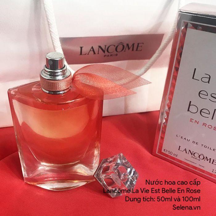 Nước hoa cao cấp Lancôme La Vie Est Belle En Rose 50ml 100ml