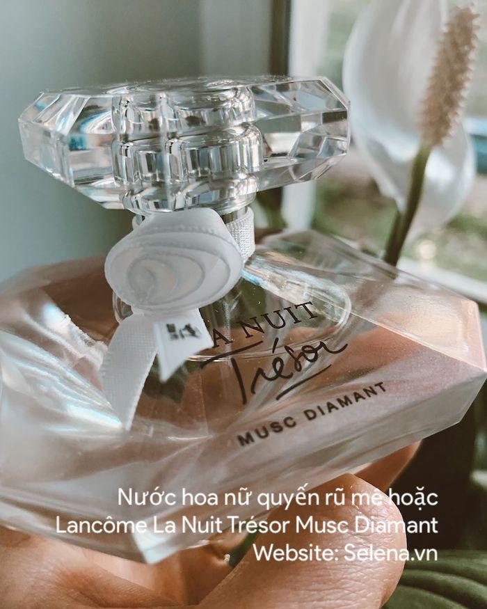 Nước hoa nữ quyến rũ mê hoặc Lancôme La Nuit Trésor Musc Diamant Fragrance Eau De Parfum hương nước hoa quyến rũ, mê hoặc, cho ngày hẹn hò thêm nồng cháy.
