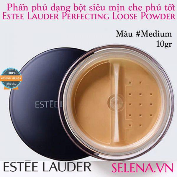 Phấn phủ bột Estée Lauder Perfecting Loose Powder #Medium