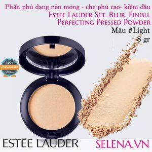 Phấn phủ dạng nén Estée Lauder Perfecting Pressed Powder #Light