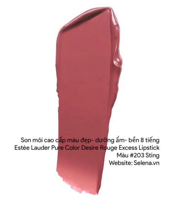 Son môi Estee Lauder Pure Color Desire Rouge Excess Lipstick #203 Sting