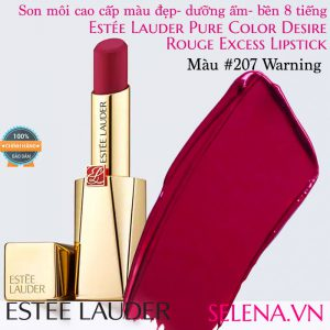 Son môi Estee Lauder Pure Color Desire Rouge Excess Lipstick #207 Warning