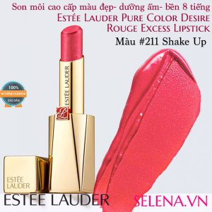 Son môi Estee Lauder Pure Color Desire Rouge Excess Lipstick #211 Shake Up