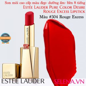 Son môi Estee Lauder Pure Color Desire Rouge Excess Lipstick #304 Rouge Excess