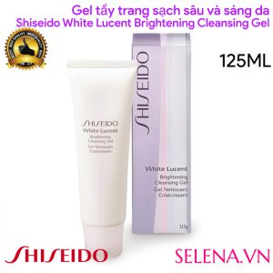 Gel tẩy trang Shiseido White Lucent Brightening Cleansing Gel 125ml