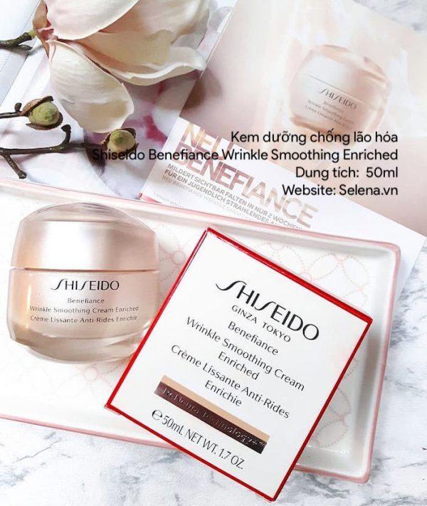 Quy chuẩn đóng gói Kem Dưỡng Da Chống Lão Hóa Shiseido