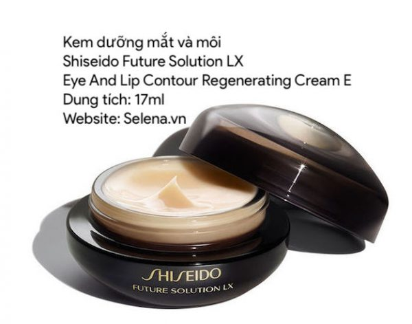 Kem dưỡng mắt và môi Shiseido Future Solution Lx Eye And Lip Contour Regenerating Cream E 17ml