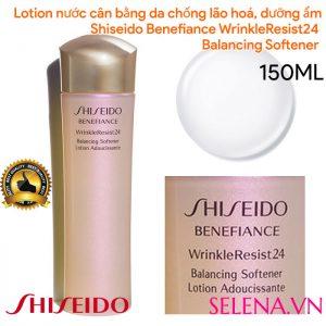 Lotion nước cân bằng Shiseido Benefiance WrinkleResist24 Balancing Softener 150ml