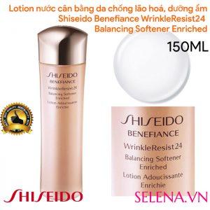 Lotion nước cân bằng Shiseido Benefiance WrinkleResist24 Enriched 150ml