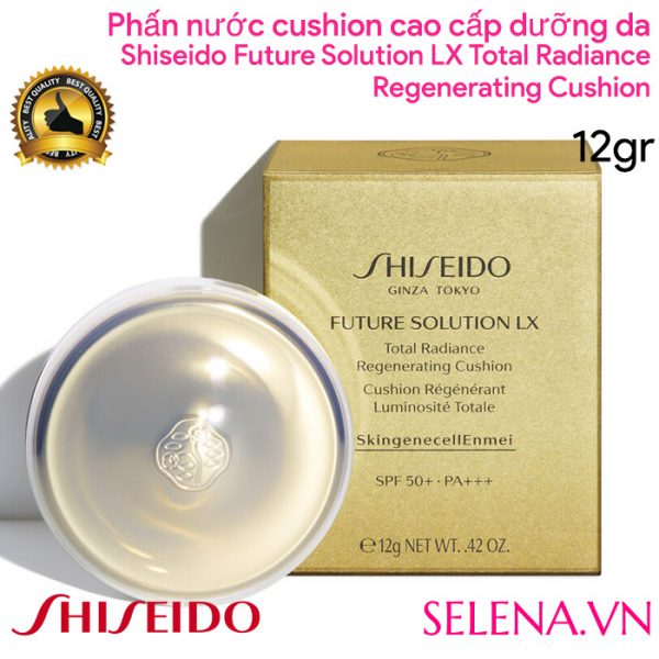 Phấn nước Shiseido Future Solution Lx Total Radiance Regenerating Cushion