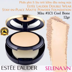 Phấn phủ lì Estee Lauder Double Wear Matte Powder #1C1 Cool Bone