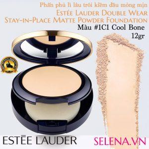 Phấn phủ lì Estee Lauder Double Wear Matte Powder #1C1 Cool Bone