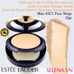 Phấn phủ lì Estee Lauder Double Wear Matte Powder #1W2 Sand