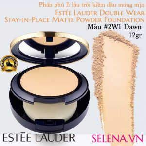 Phấn phủ lì Estee Lauder Double Wear Matte Powder #2W1 Dawn