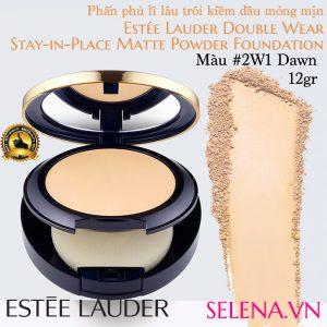 Phấn phủ lì Estee Lauder Double Wear Matte Powder #2W1 Dawn