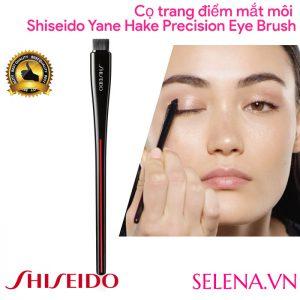 Cọ trang điểm mắt môi Shiseido Yane Hake Precision Eye Brush