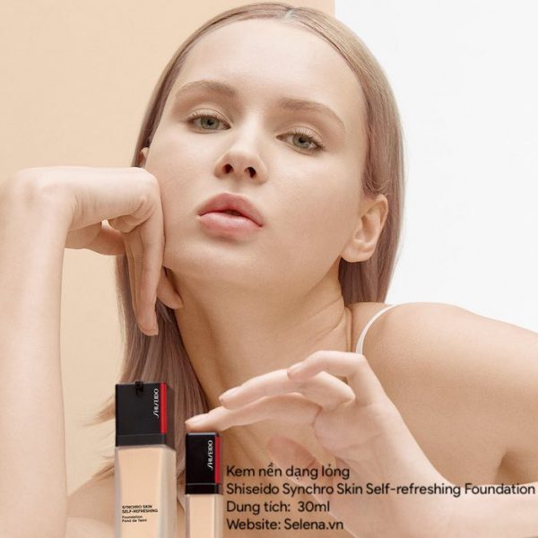 Kem nền Shiseido Synchro Skin Self-refreshing Foundation 30ml