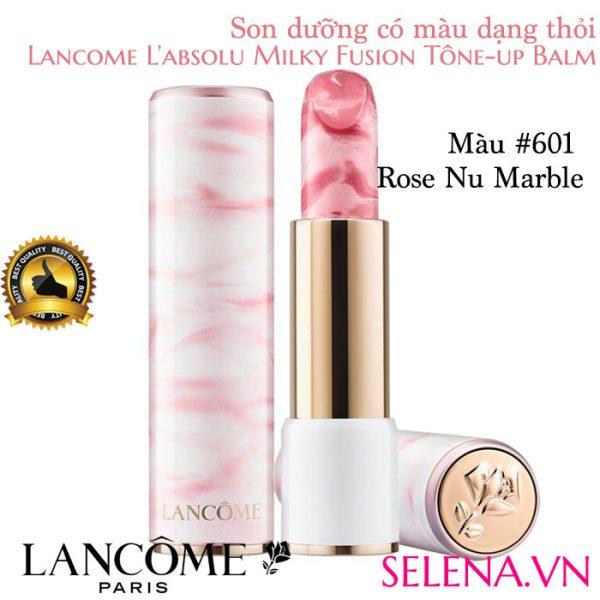 Son dưỡng môi Lancome L'absolu Milky Fusion #601 Rose Nu Marble