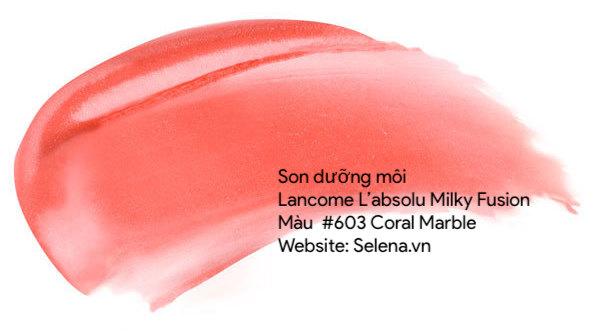 Son Dưỡng Môi Đẹp , 601 Rose Nu Marble , Son Hồng Tươi Tắn Rạng Rỡ, 602 Pink Marble, Son Hồng Nhẹ Nhàng Căng Mọng, 603 Coral Marble , Son Cam Tự Nhiên Ngọt Ngào