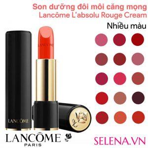 son dưỡng môi Lancôme L'absolu Rouge Cream