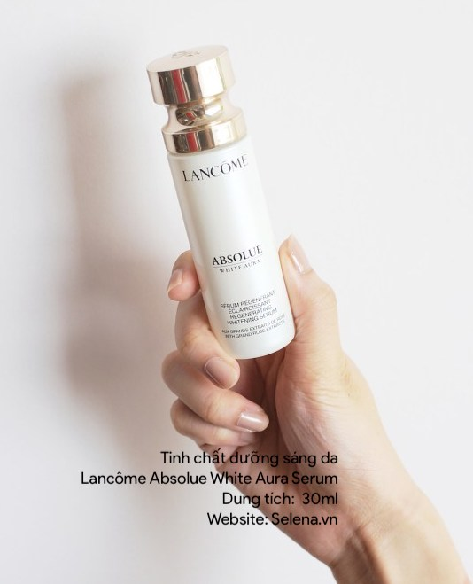 Tinh chất dưỡng sáng da Lancôme Absolue White Aura Serum Regenerating Whitening Serum with Grand Rose Extracts
