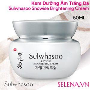 Kem dưỡng ẩm trắng da Sulwhasoo Snowise Brightening Cream