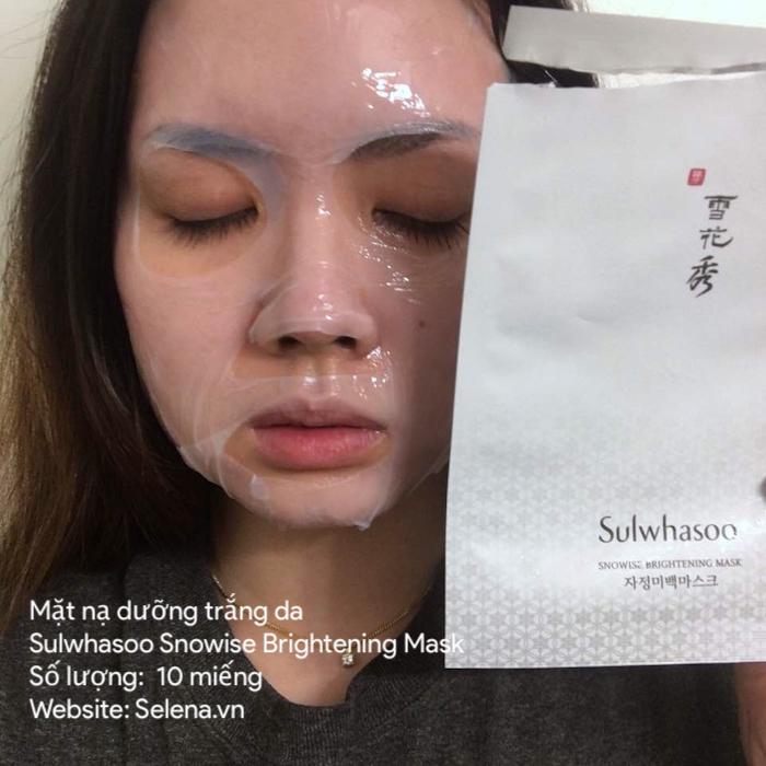 mặt nạ giấy Sulwhasoo chiết xuất từ Saponin Bạch Sâm