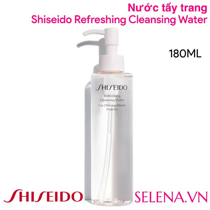 Nước tẩy trang Shiseido Refreshing Cleansing Water 180ML