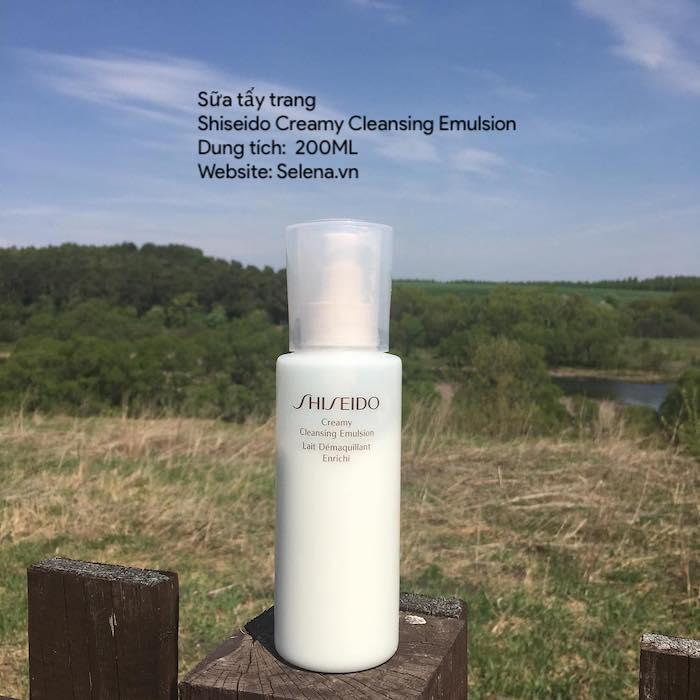 Sữa tẩy trang Shiseido, tẩy trang da thường, tẩy trang da dầu, tẩy trang da hỗn hợp, tẩy trang da khô, tẩy trang da nhạy cảm.